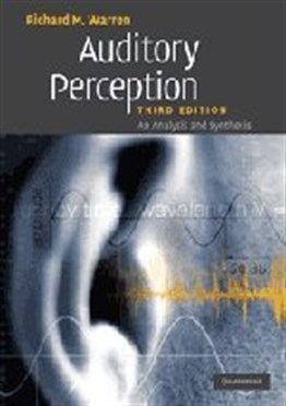 Auditory Perception: An Analysis and Synthesis, 3rd Ed.