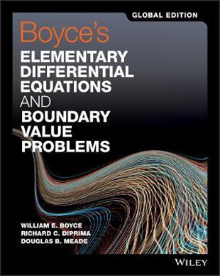 Boyces Elementary Differential Equations and Boundary Value Problems