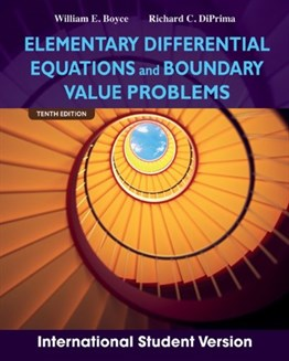 Elementary Differential Equations and Boundary Value Problems, 10th Ed. (International Student Version)