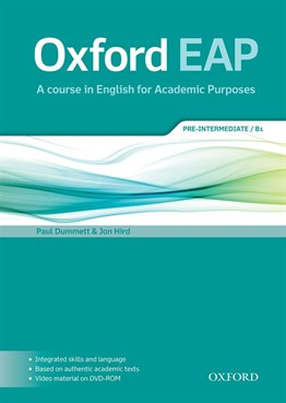 Oxford EAP: Pre-Intermediate/B1: Students Book and DVD-ROM Pack