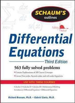 Schaums Outline of Differential Equations, 4th Edition